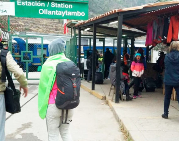 The Train Station With Destination Machu Picchu
